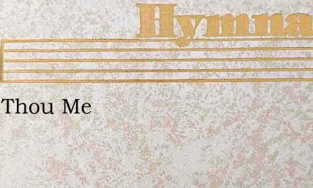 Keep Thou Me – Hymn Lyrics