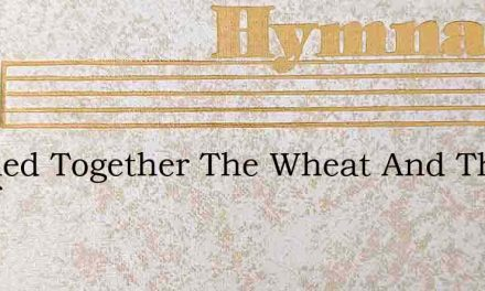 Mingled Together The Wheat And The Chaff – Hymn Lyrics
