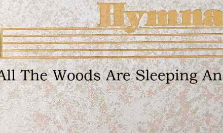 Now All The Woods Are Sleeping And Night – Hymn Lyrics