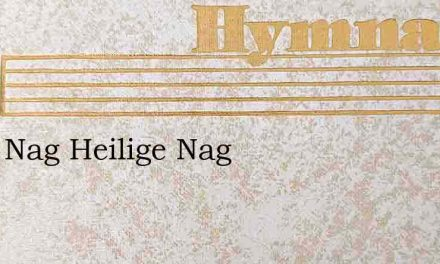 Stille Nag Heilige Nag – Hymn Lyrics